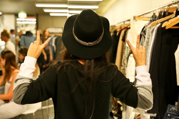 Anneke Isabelle wearing Agent Ninetynine Hat